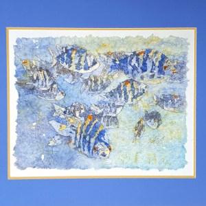 Pat Smelkoff-Fish-batik