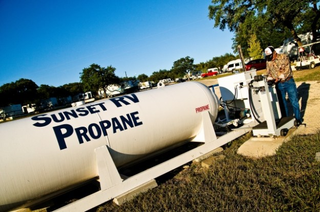 Photo of Sunset RV Resort Propane Tank