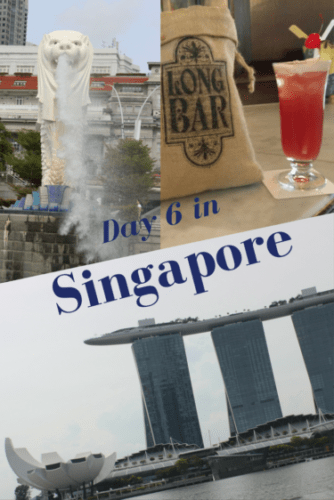 Day 6 in Singapore