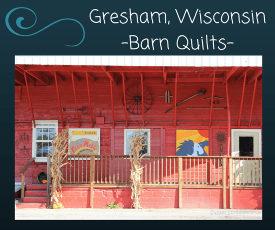 Gresham, Wisconsin-Barn Quilts-