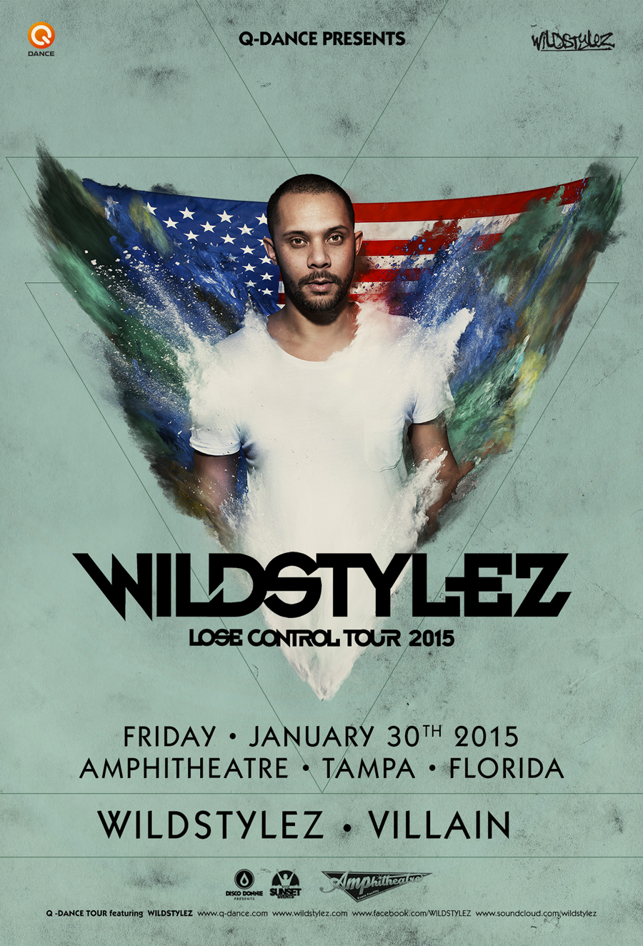 Q-Dance presents Wildstylez – Lose Control Tour 2015