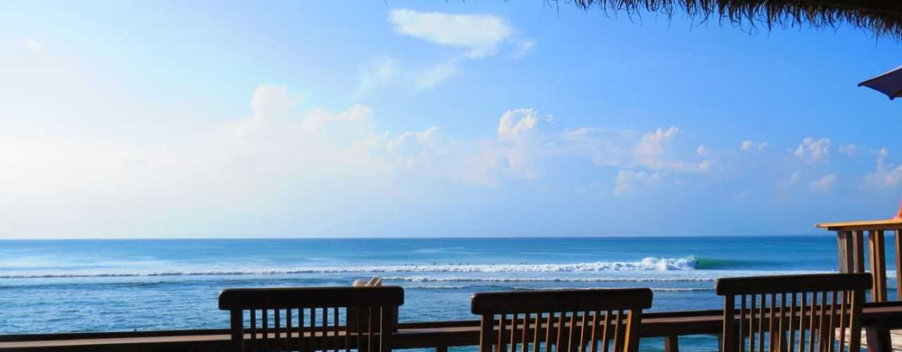 Lots of surf in Indonesia