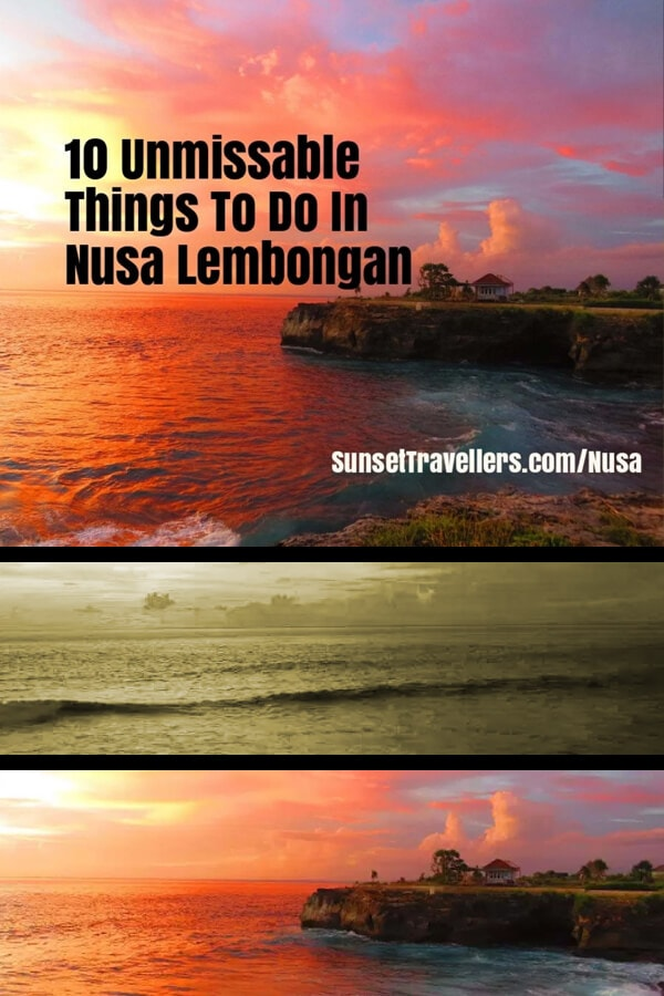 10 Unmissable Things To Do In Nusa Lembongan