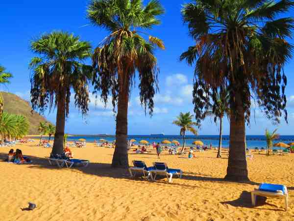 Best places and beaches in Tenerife Santa Cruz