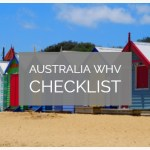 Complete Working Holiday Visa Australia Checklist (Subclass 417)