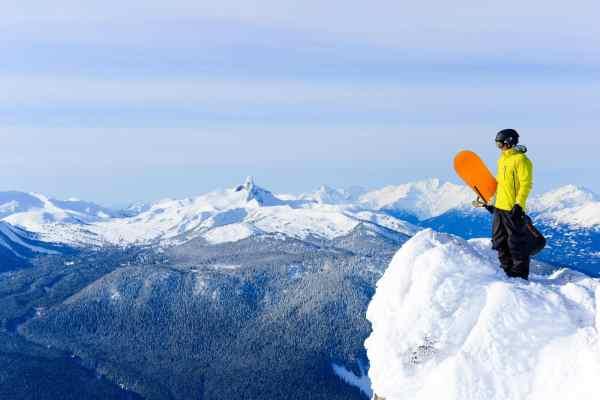 Best ski season in Whistler Blackcomb in British Columbia