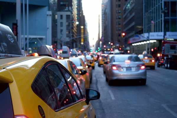 Visiting New York - City traffic, another New York City Tip
