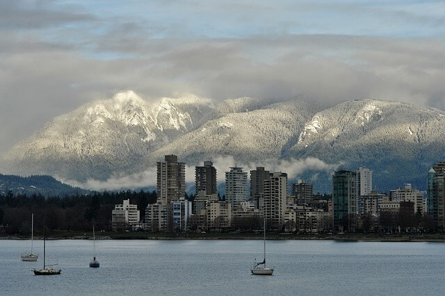 It is easy to see why people move to Vancouver with views like this