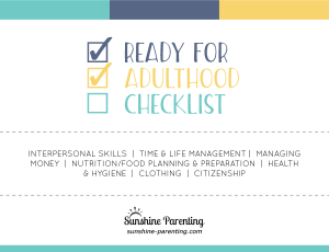 Ready for Adulthood Checklist