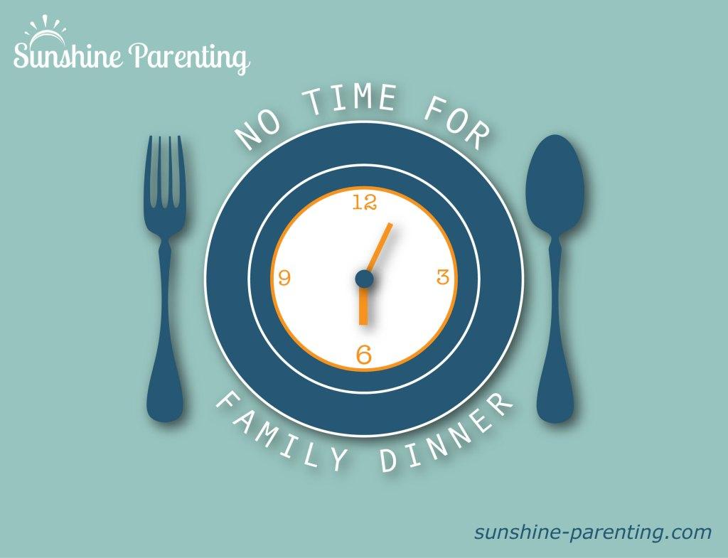 No Time for Family Dinner