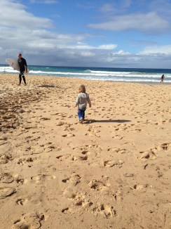 Manly beach strolls