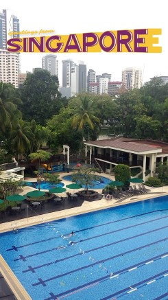 The Tanglin Club pools