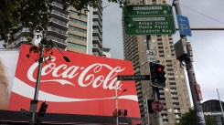 Second largest Coke billboard in the world!