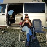 Kirkby Lonsdale in a camper van.