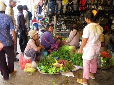 Women in Central Market Siem Reap Cambodia