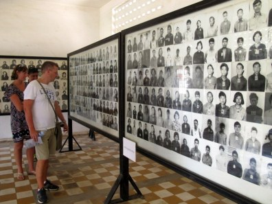 Rooms and rooms of victims, all photographed as they arrived. There was no distinction - men, women, children, babies. Everyone could be an enemy of the revolution.