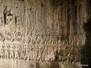 Beautiful wall carvings.