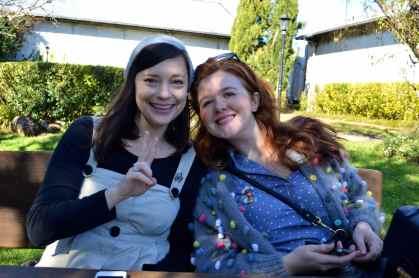 Sarah and Katie Tamborine