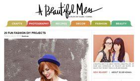 A beautiful mess website