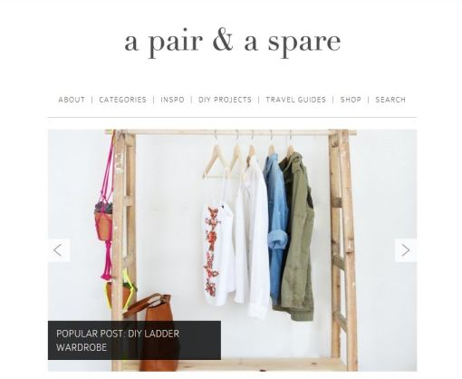 a pair and a spare website