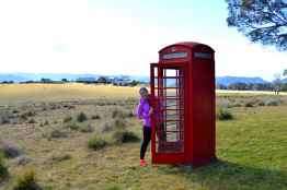 Just need to make a quick call at Spicers Peak Lodge