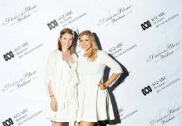 Claire and Kirst at Diner en Blanc 2013