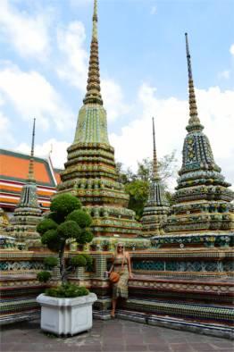 Kirst at Wat Arun, Bangkok