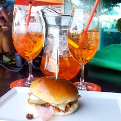 Aperol Spritz at Black Bird
