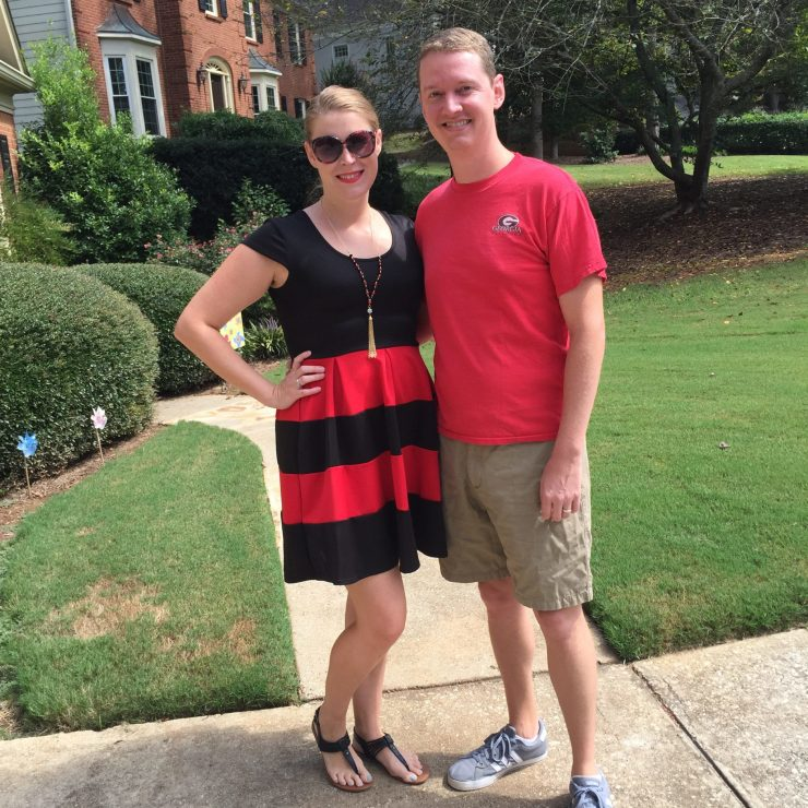 uga game day attire | sunshineandholly.com