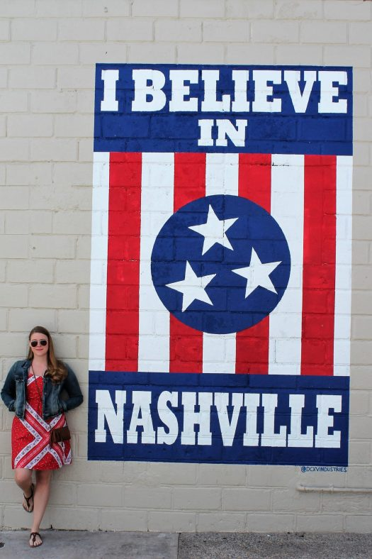 The Best Places to take an Instagram-Worthy Picture in Nashville | sunshineandholly.com