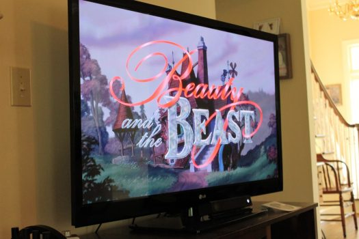 Beauty and the Beast PJ Family Movie Night | sunshineandholly.com
