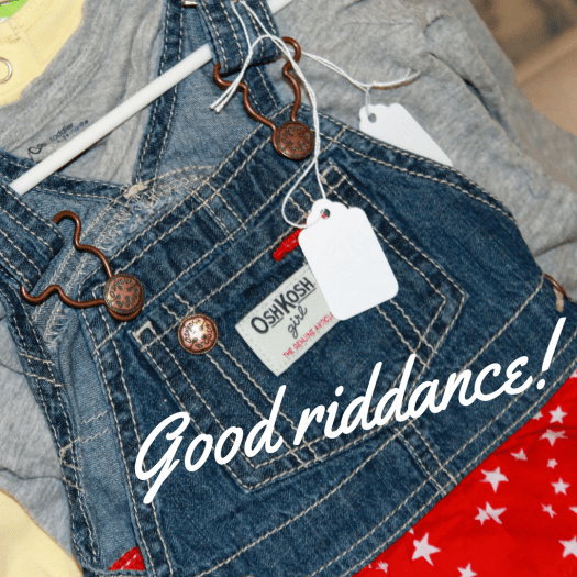 consigning your kids' clothes | sunshineandholly.com