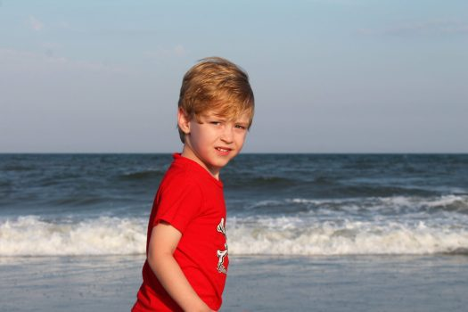 A Weekend at the Beach with Kids | sunshineandholly.com