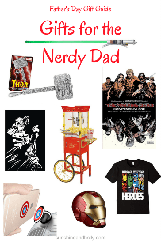 Father's Day Gift Guide Gifts for the Nerdy Dad | sunshineandholly.com
