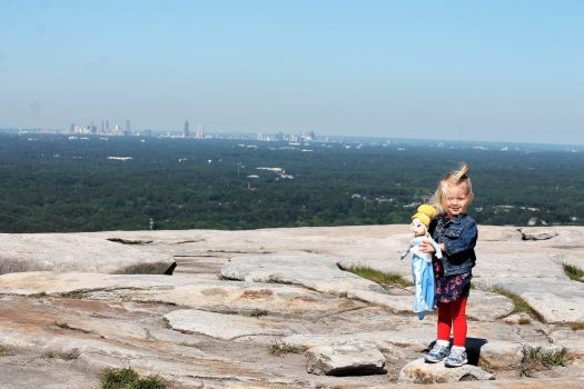 5 tips for climbing stone mountain | stone mountain park | sunshineandholly.com