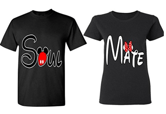 Adorable Matching Disney World T-Shirts for Couples   sunshineandholly.com   anniversary   Disneyland
