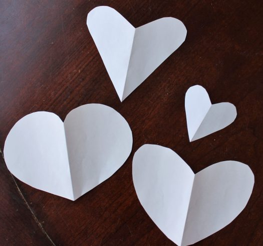 Easy Kid's Valentine's Day Thumbprint Craft | sunshineandholly.com