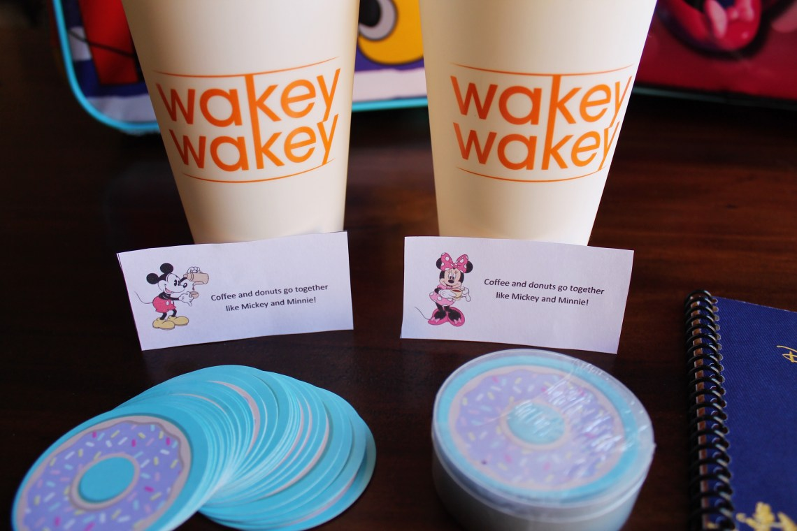 Fish Extender Gift Idea for Adults - Coffee and Donuts | sunshineandholly.com | tips for disney cruise | disney dream | disney wonder