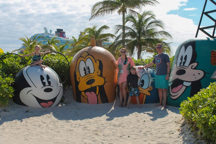 Disney Cruise Day 2 at Castaway Cay | sunshineandholly.com | disney cruise line | disney dream | disney private island