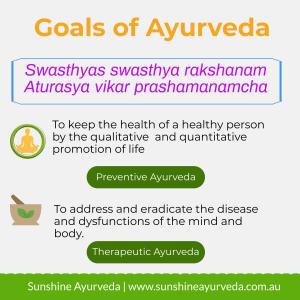 ayurveda goals