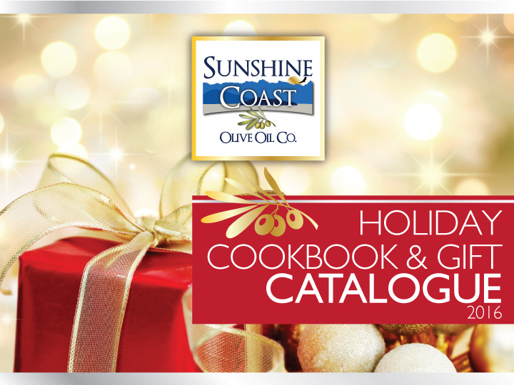 View Holiday Cookbook & Gift Catalogue