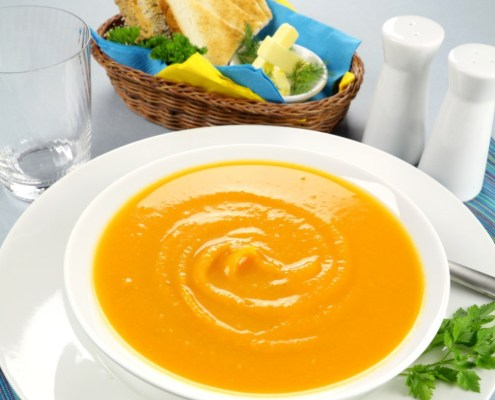 Autumn Gold Harvest Soup