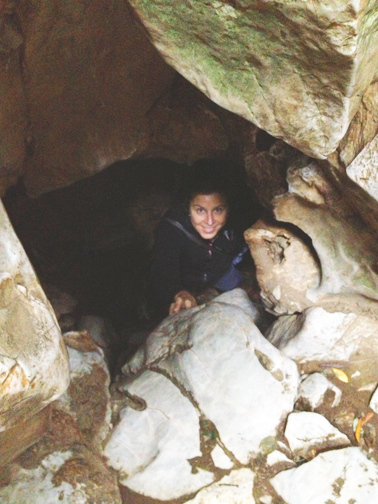 Marble Mountain_Cave Passage_Gretchen