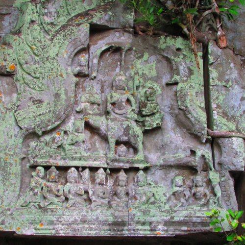 Bang Melea Carving