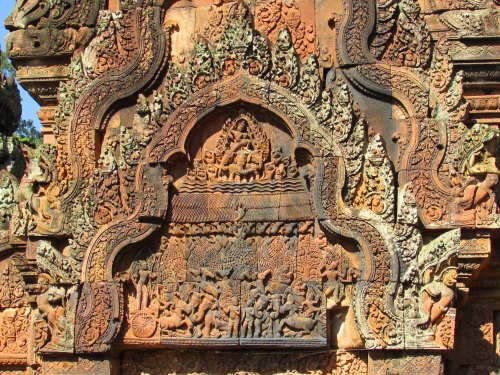 Banteay Srei Carvings2