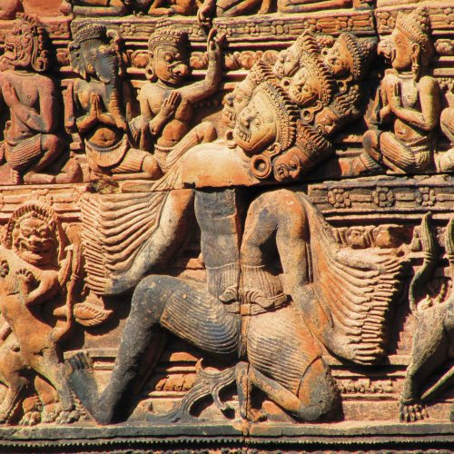 Banteay Srei Carvings5