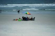 Chillaxing on the beach
