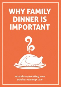 Why Family Dinner is Important
