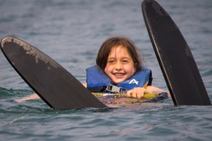 Learning to Waterski-Gold Arrow Camp