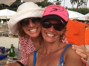 With my Natural Hawaiian Mama friend